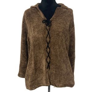 margaret o'leary brown sweater